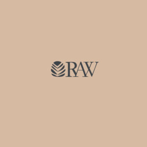 raw logo design 1