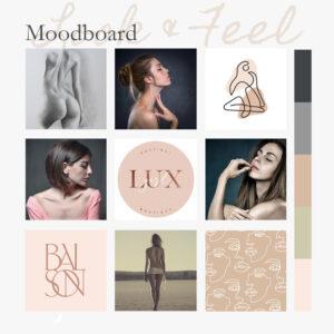 raw moodboard